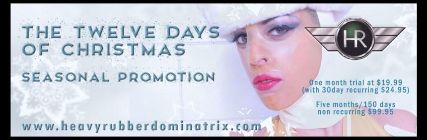 HRD – Twelve Days of Christmas promo