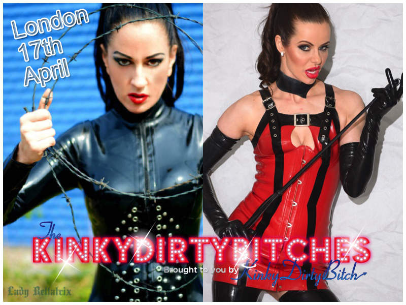 Double Domme with Kinky Dirty Bitch – April 17