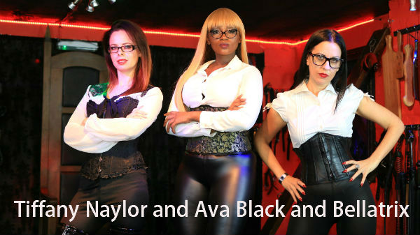 Triple Domination with Tiffany Naylor and Ava Black