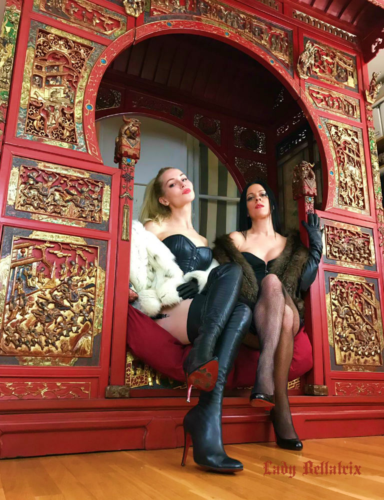 Double Domination with K8 Morgan and Mistress Eleise